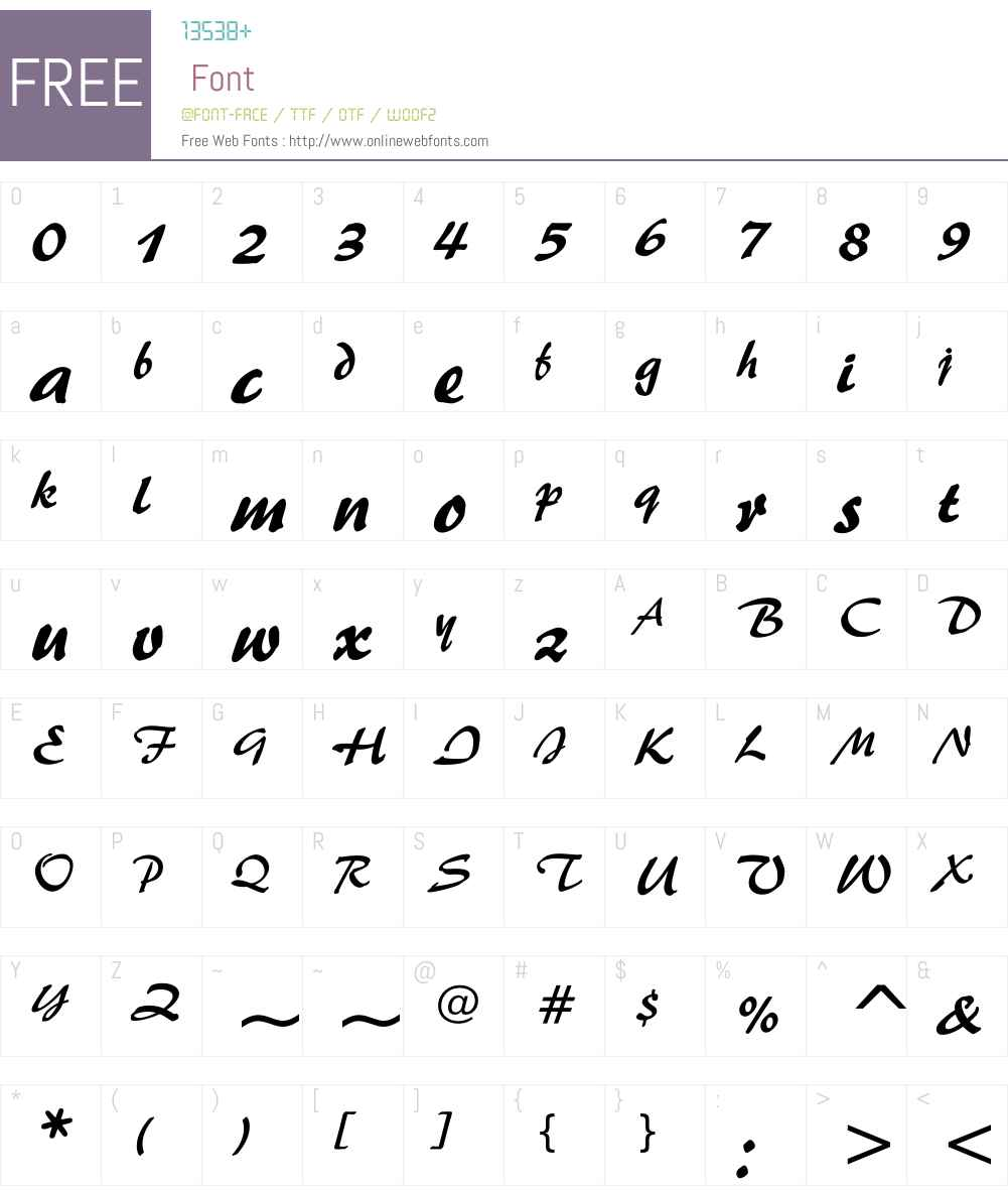 UKIJ Diwani Tom Font Screenshots
