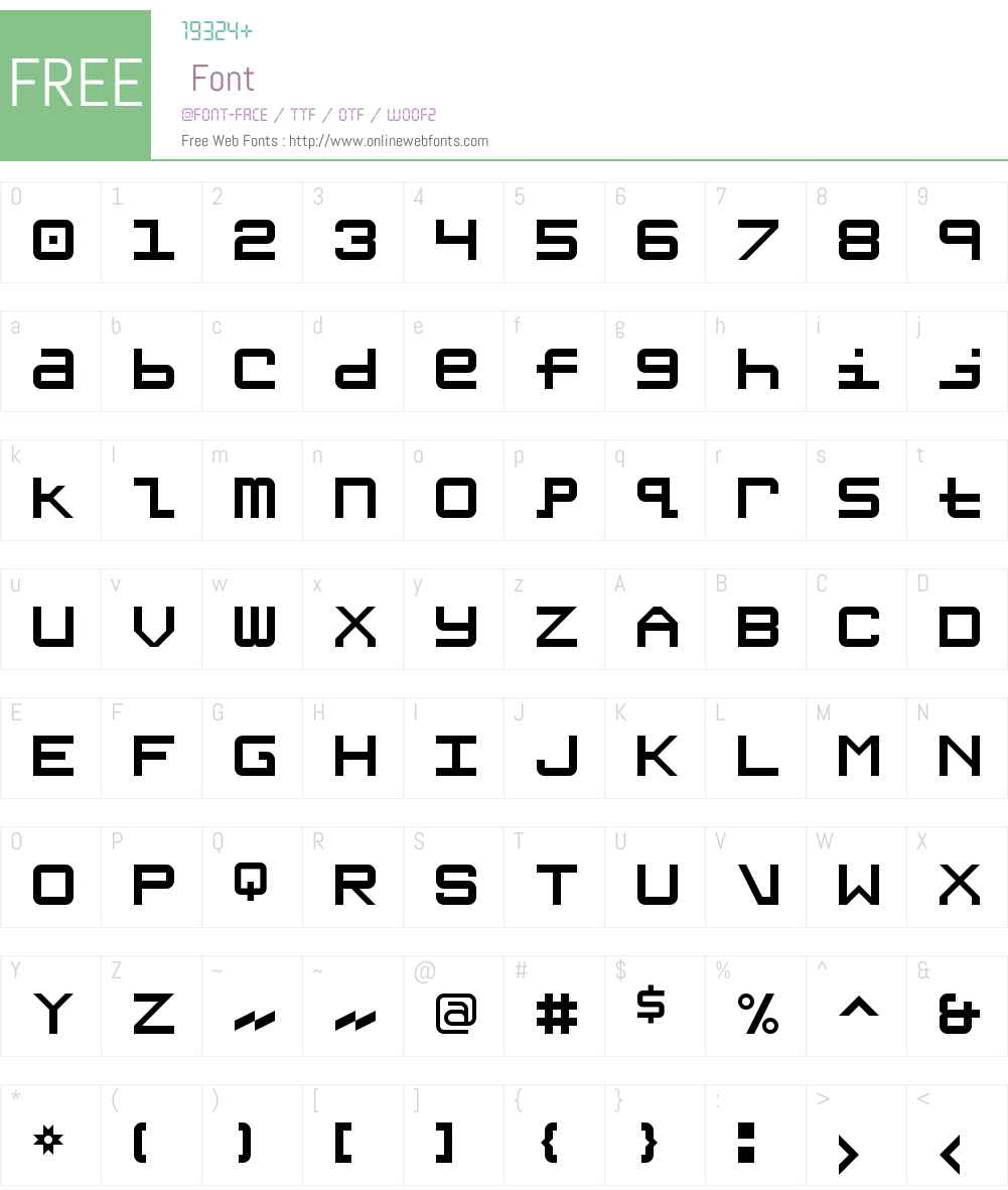 Grishenko NBP Font Screenshots