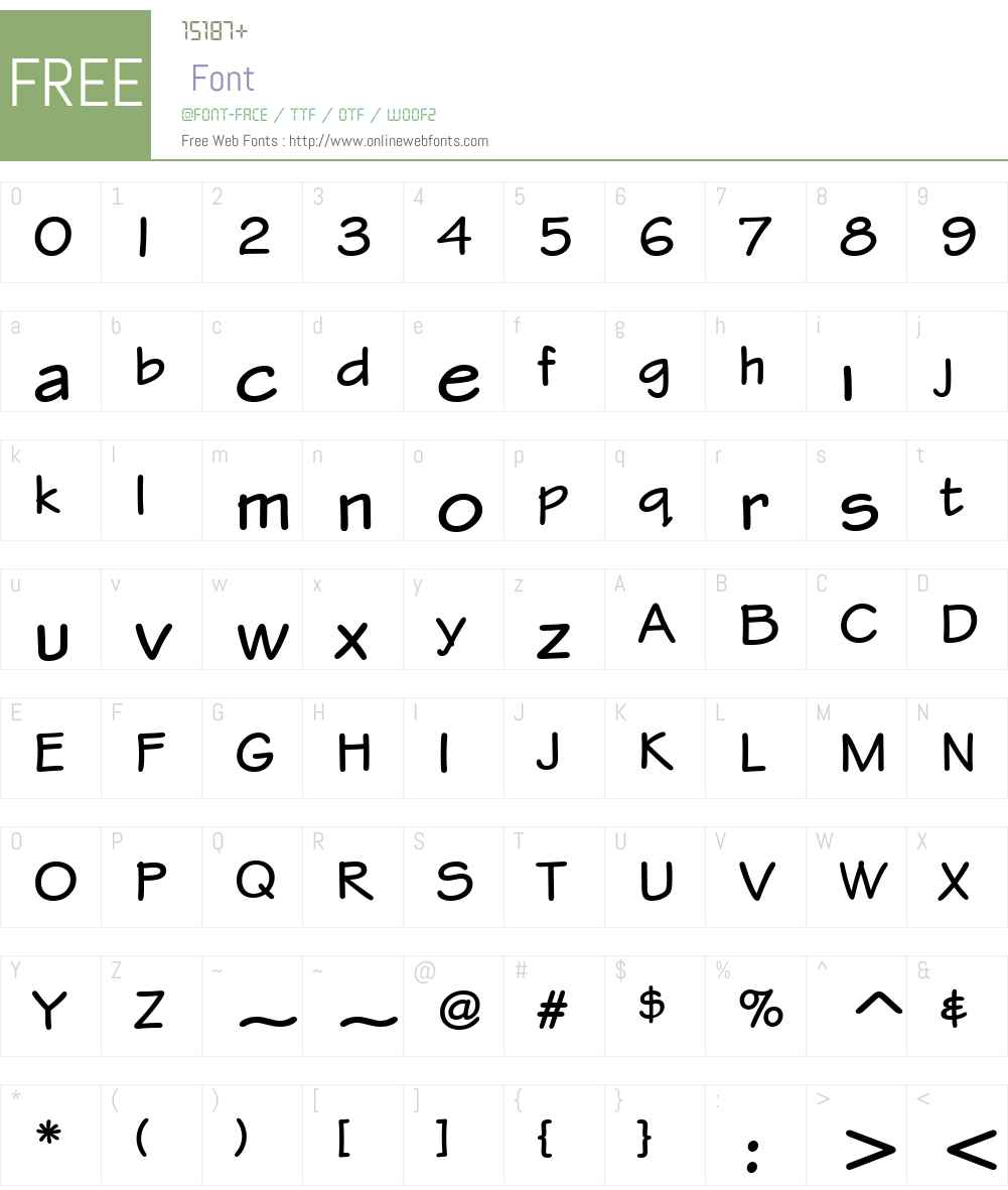 Stylus ITC Bold Font Screenshots