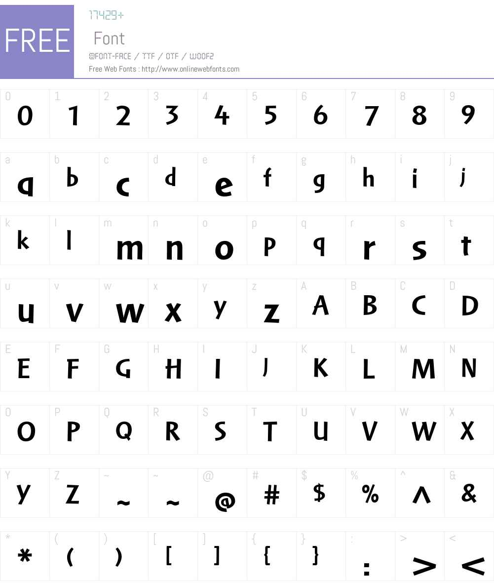 Markin LT Regular Font Screenshots