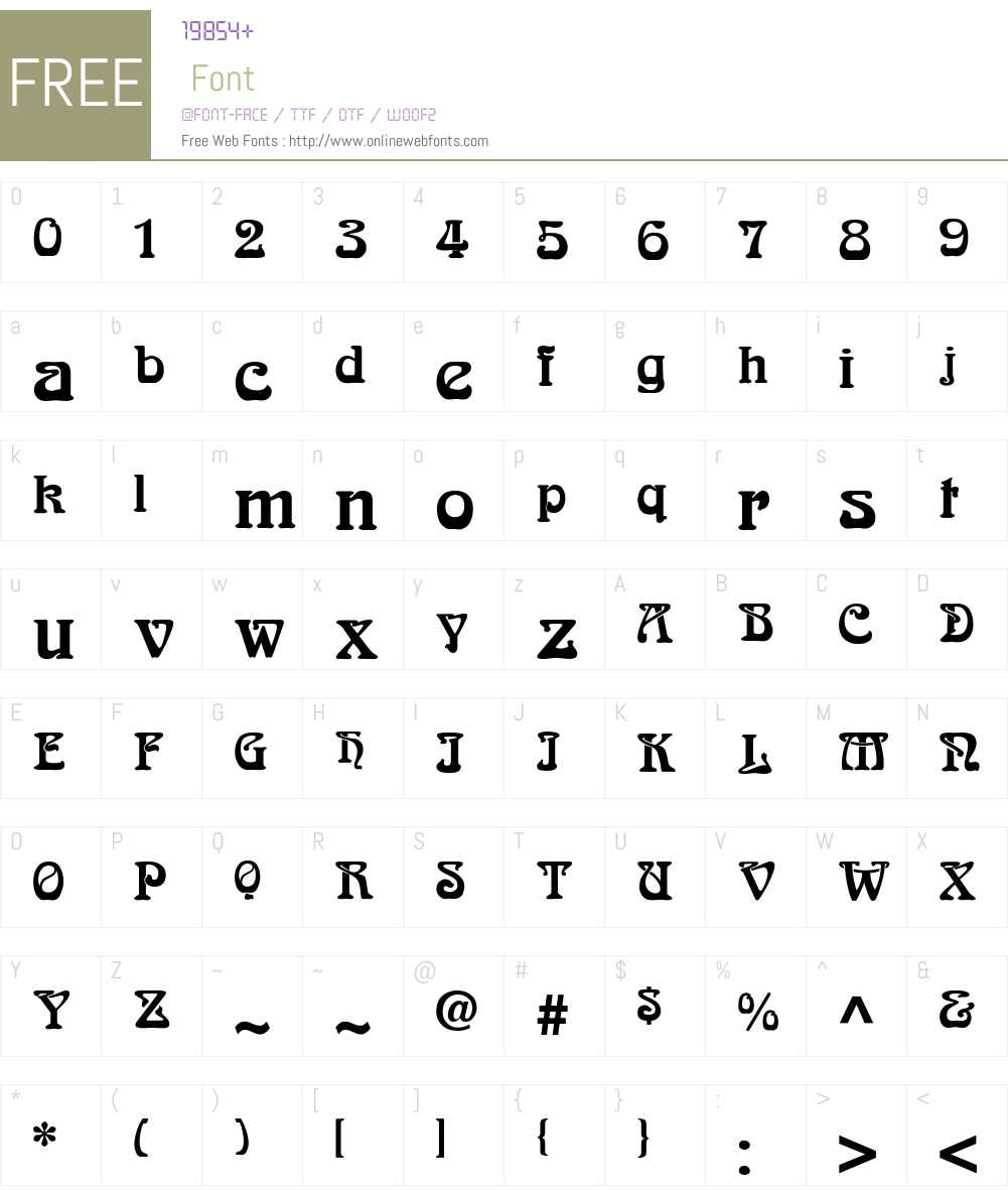 SlowGinFizzing-ExtraBold Font Screenshots