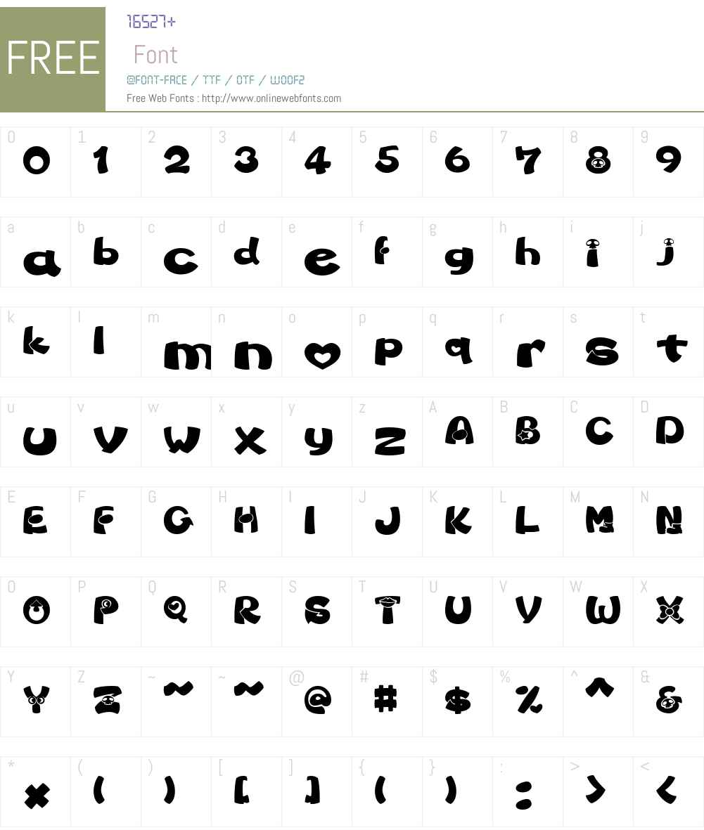 marjo Font Screenshots