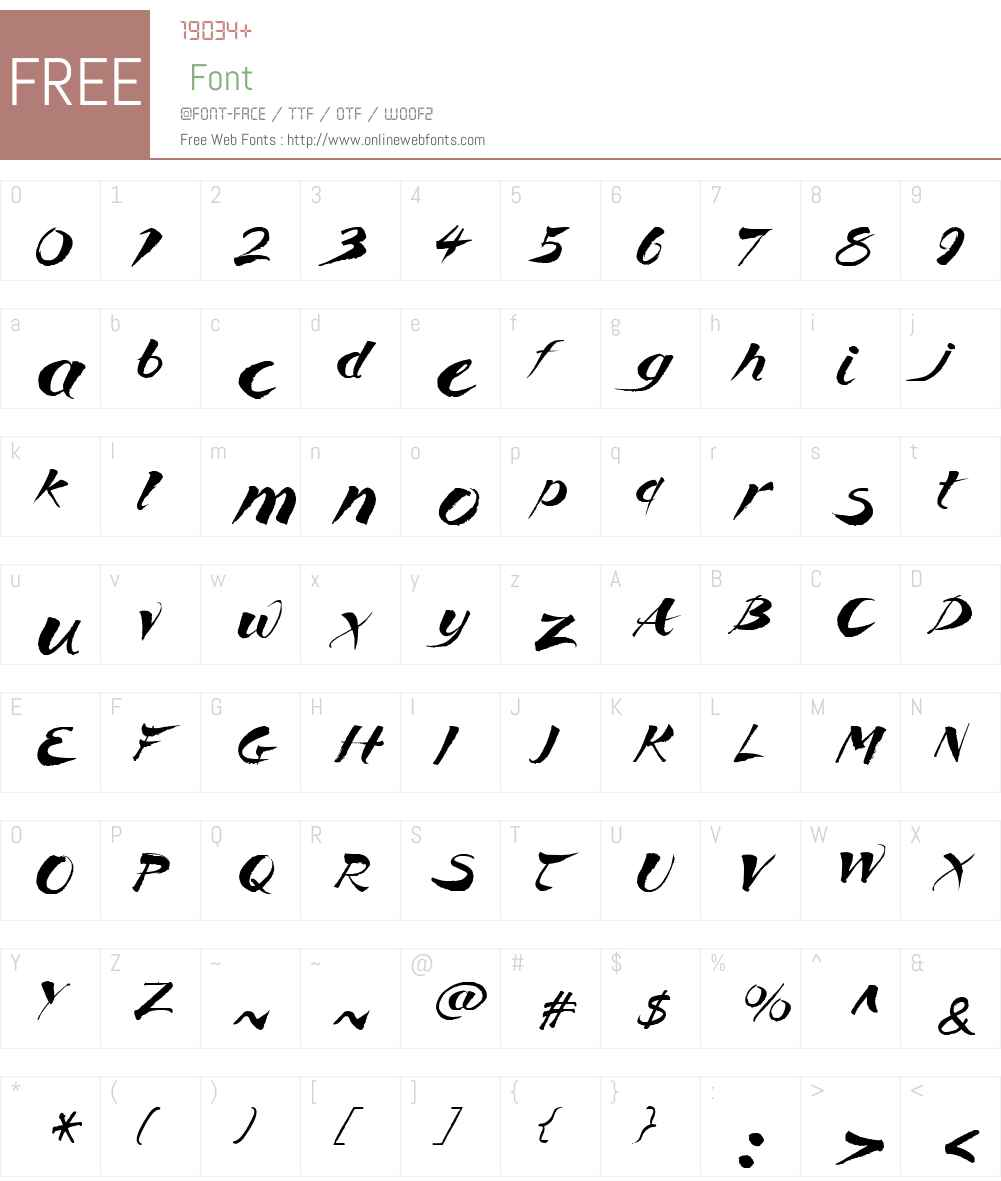 Breezy Font Screenshots