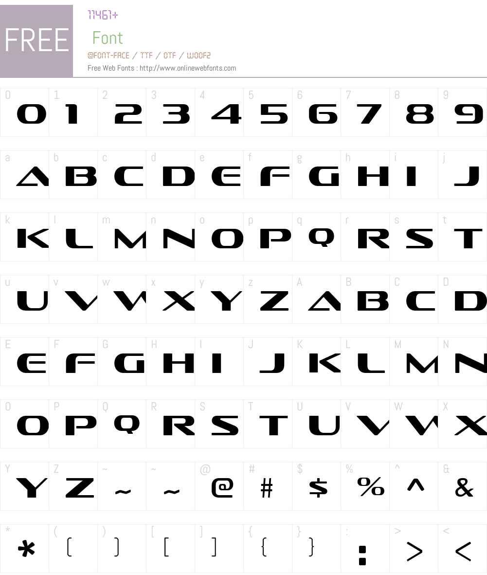 SofachromeW00-Book Font Screenshots