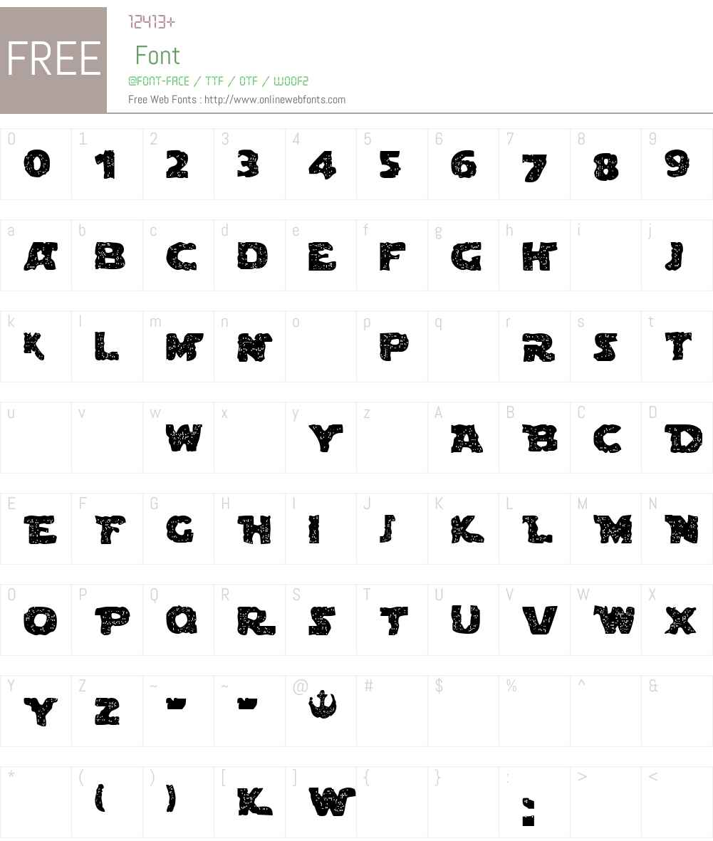 Blown Droid Font Screenshots
