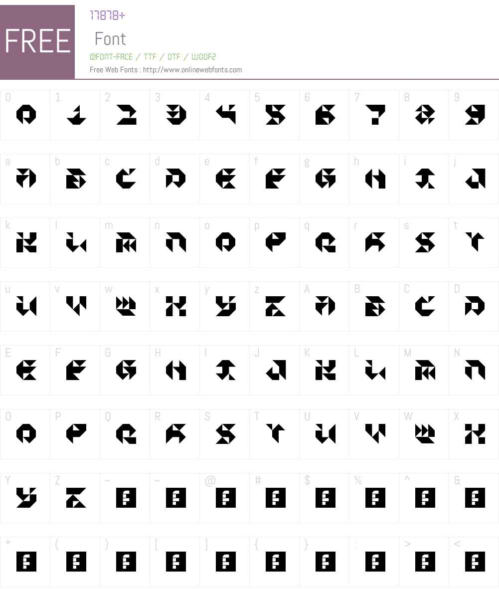 Particulator III Font Screenshots