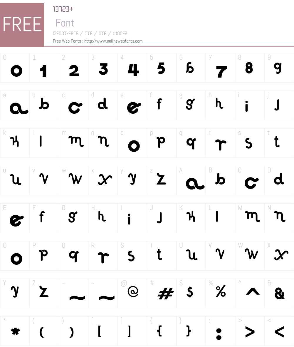 Haus Sweet Haus Rounded Font Screenshots