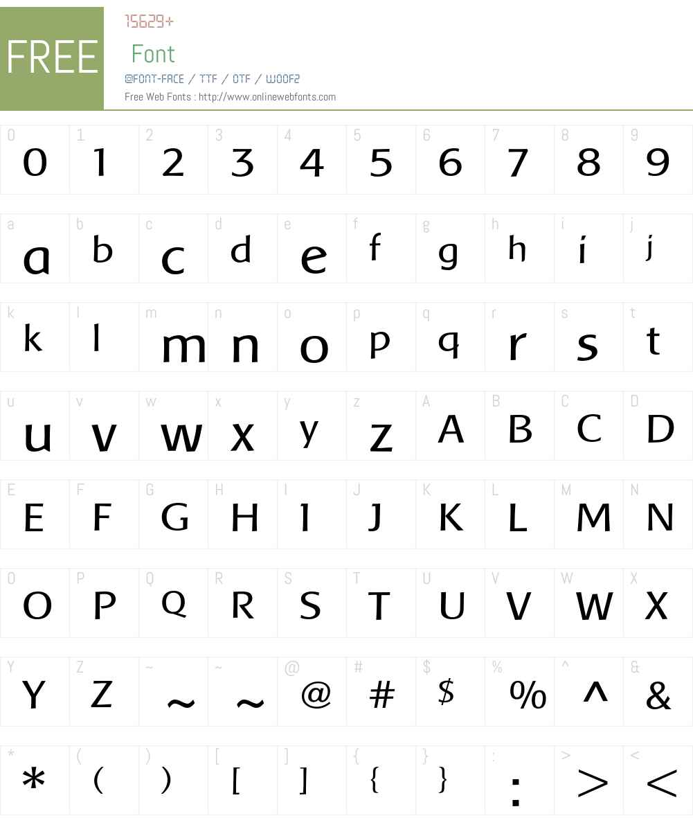 Baar Metanoia Font Screenshots