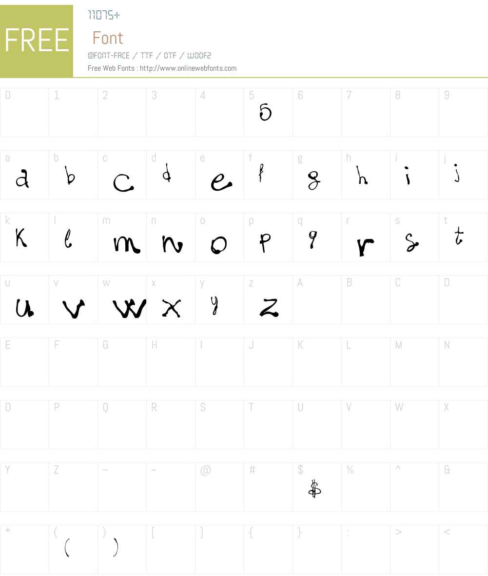 fonts-lab(dot)com_fivematter! Font Screenshots