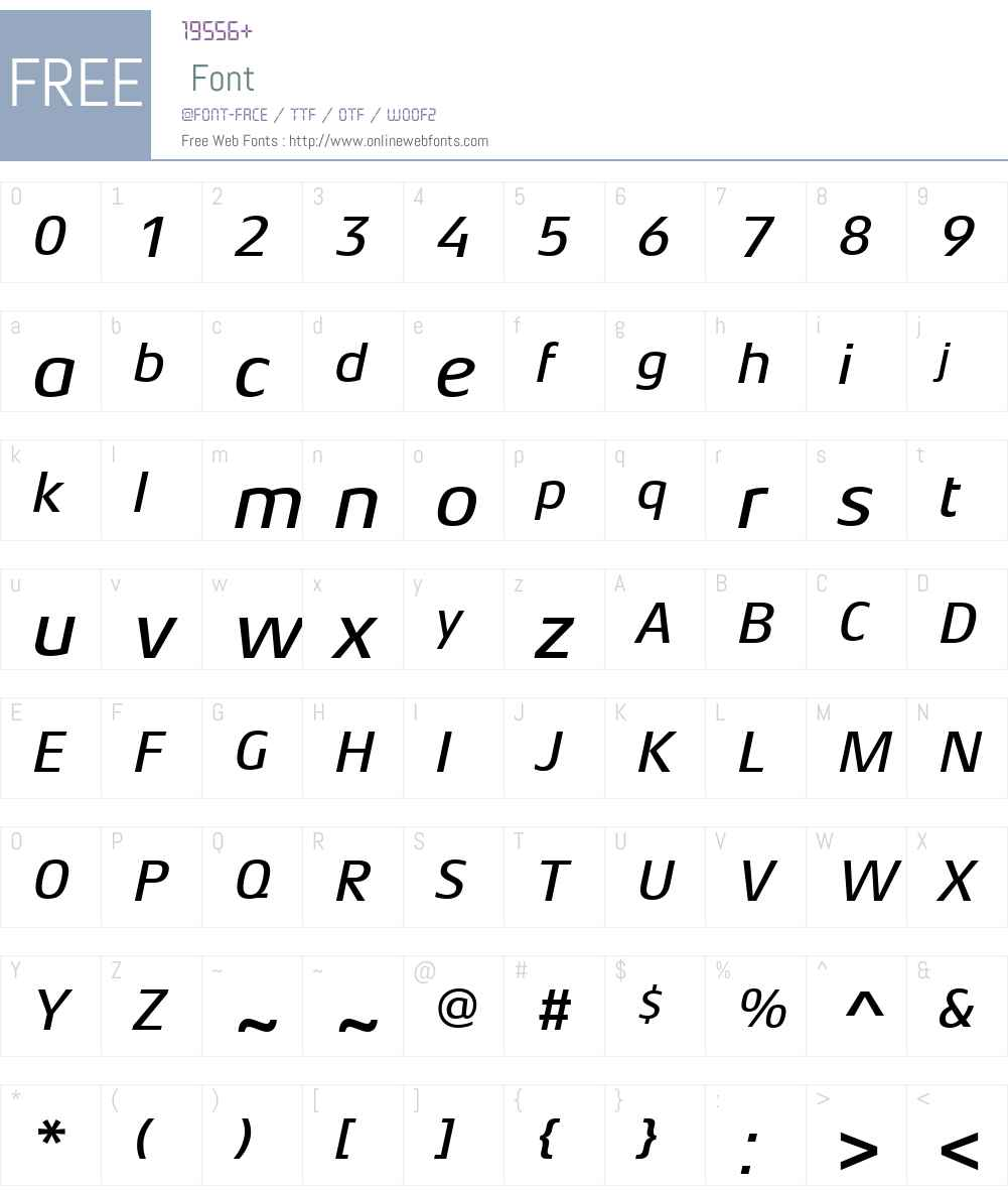 AeonisLTW01-MediumItalic Font Screenshots