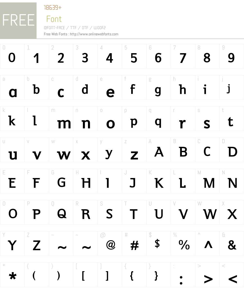 Jeunesse Std Font Screenshots