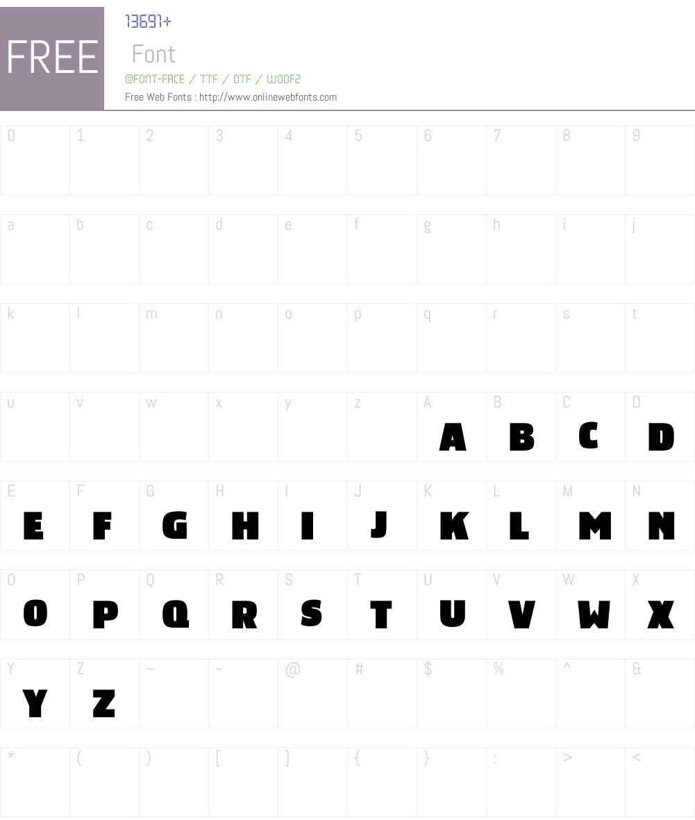 Rotterdam Font Screenshots