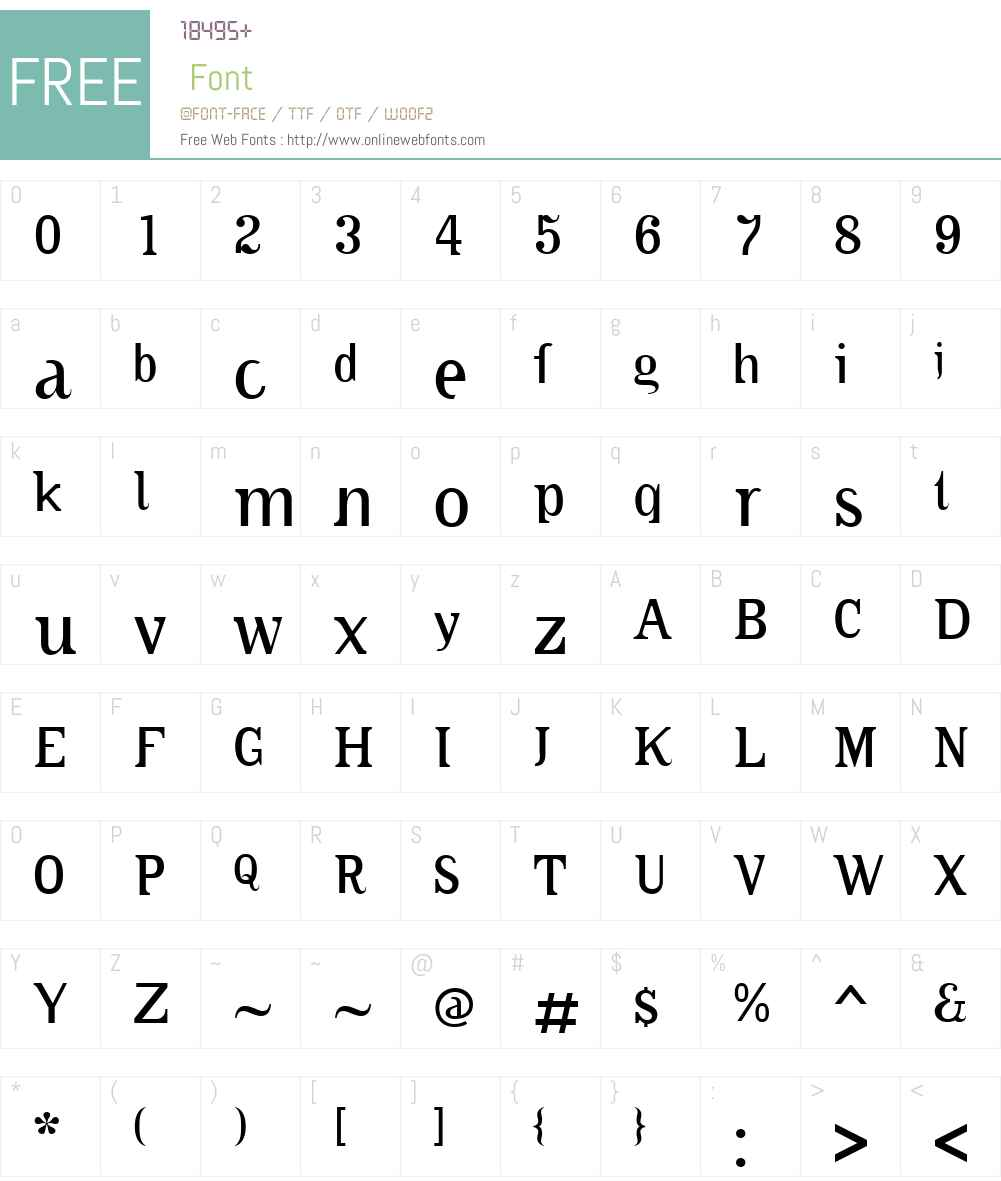CABlitzkriegPopW00-Light Font Screenshots