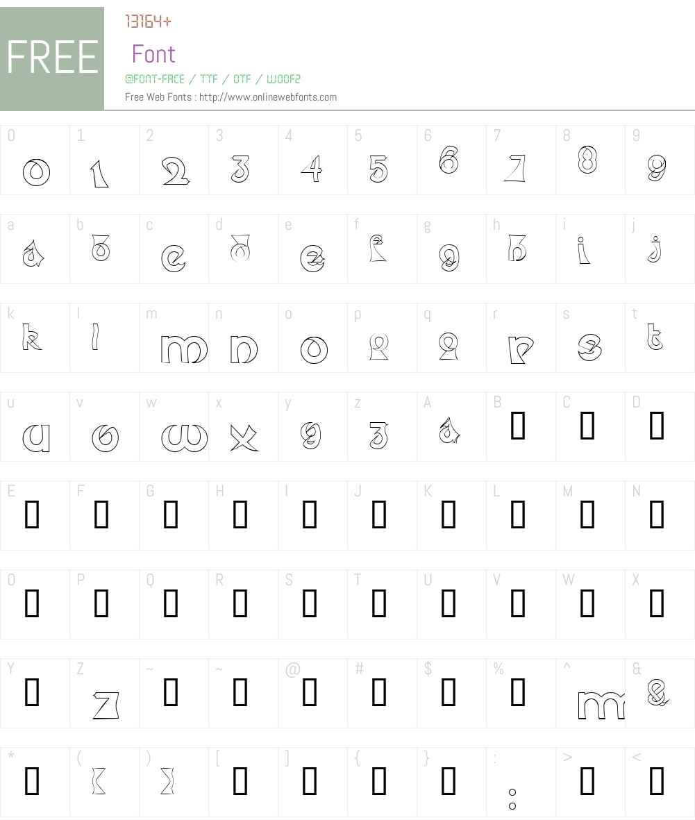 Psychotic Elephant Font Screenshots