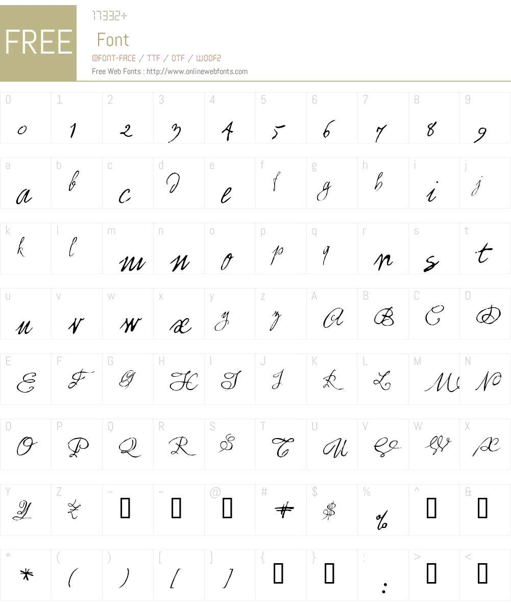 1859 Solferino Font Screenshots