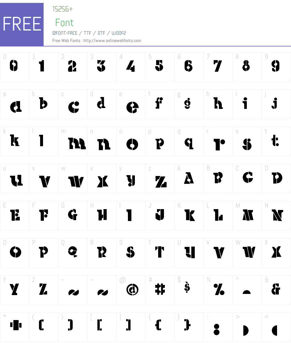 CantaloupeW00-Regular Font Screenshots
