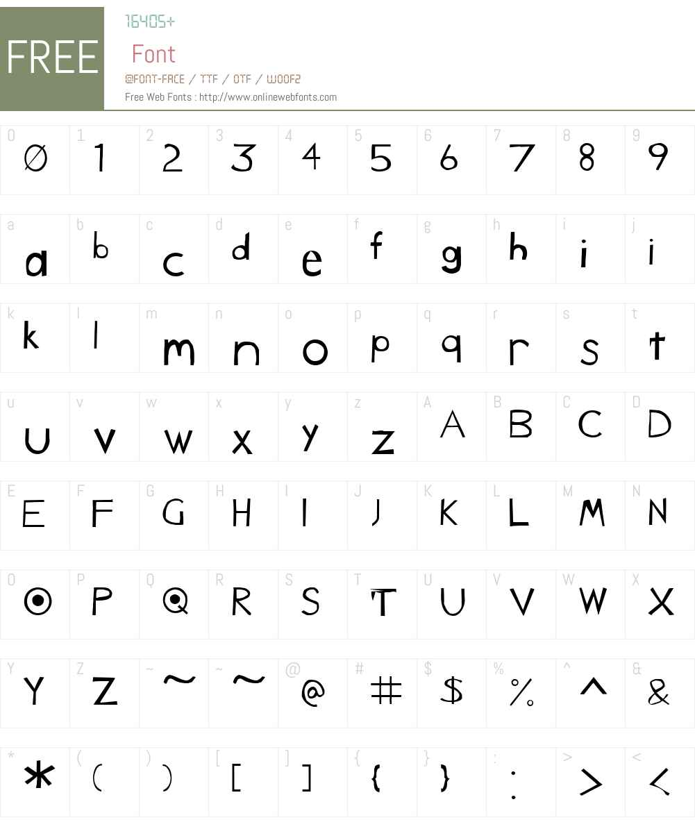 Caduceus Font Screenshots