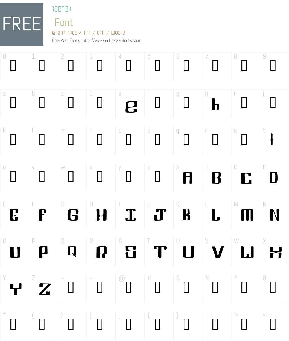 Pinoy Font Screenshots