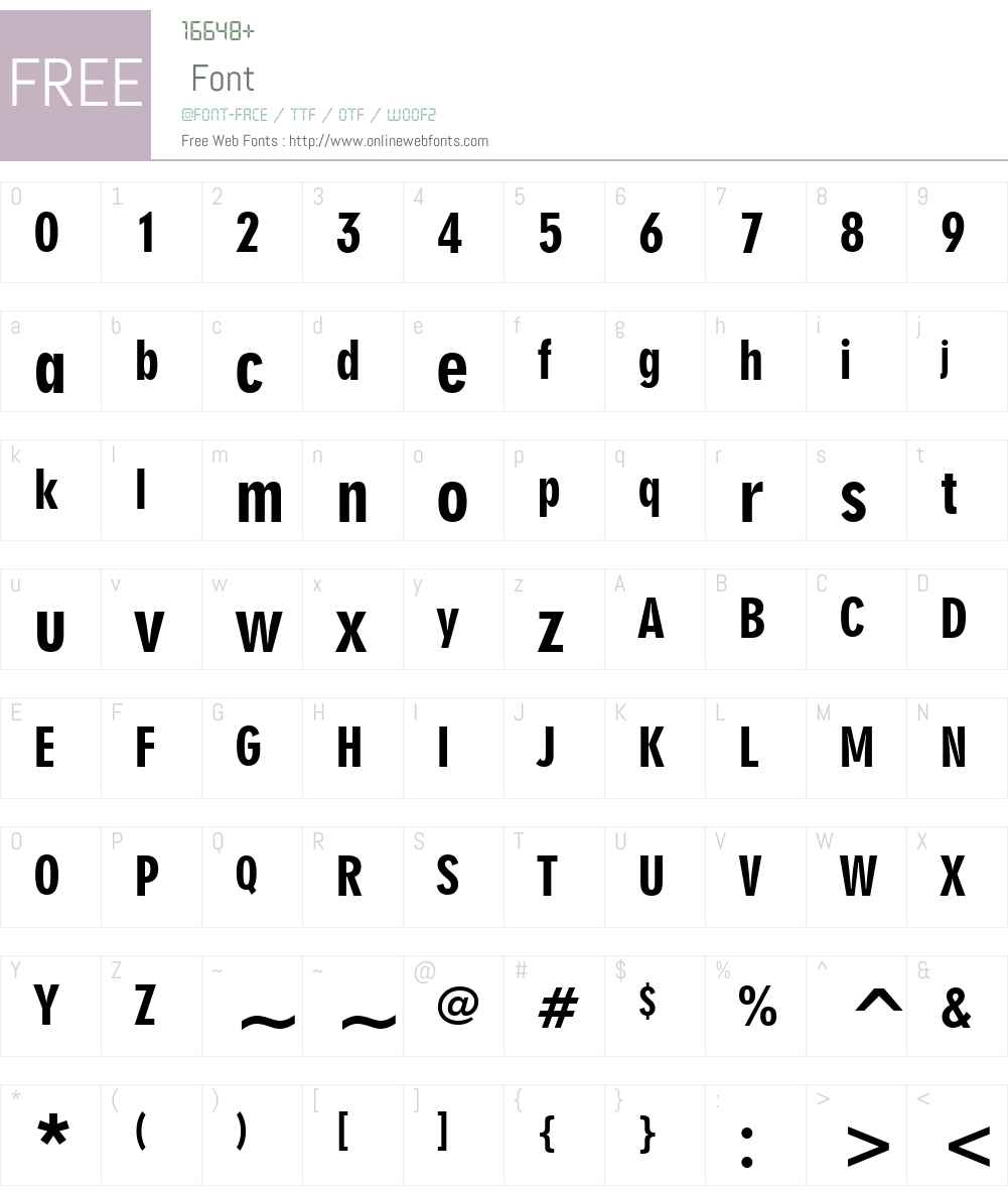 Geometr706 BlkCn BT Font Screenshots