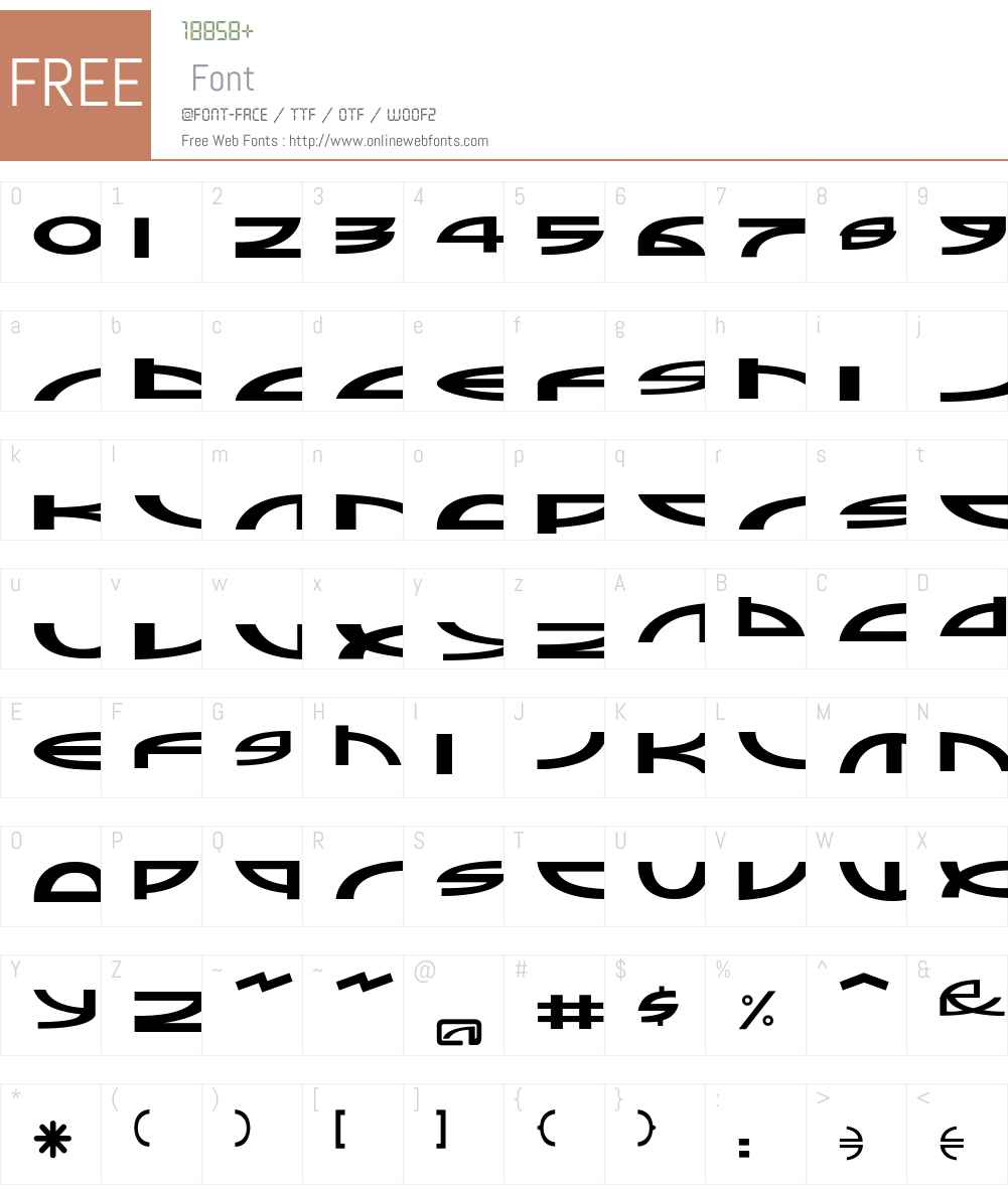 Sampler Font Screenshots