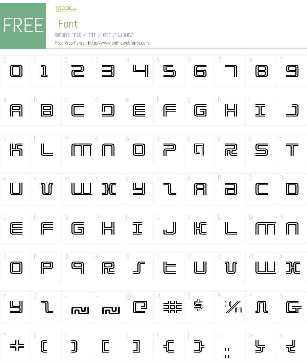 Election Day Expanded Font Screenshots