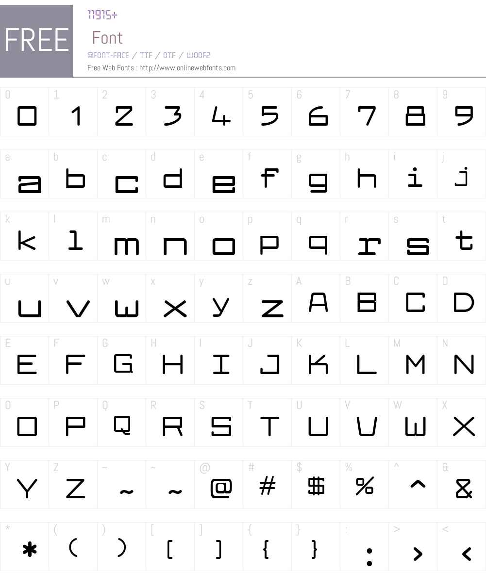 Larabiefont Extended Font Screenshots