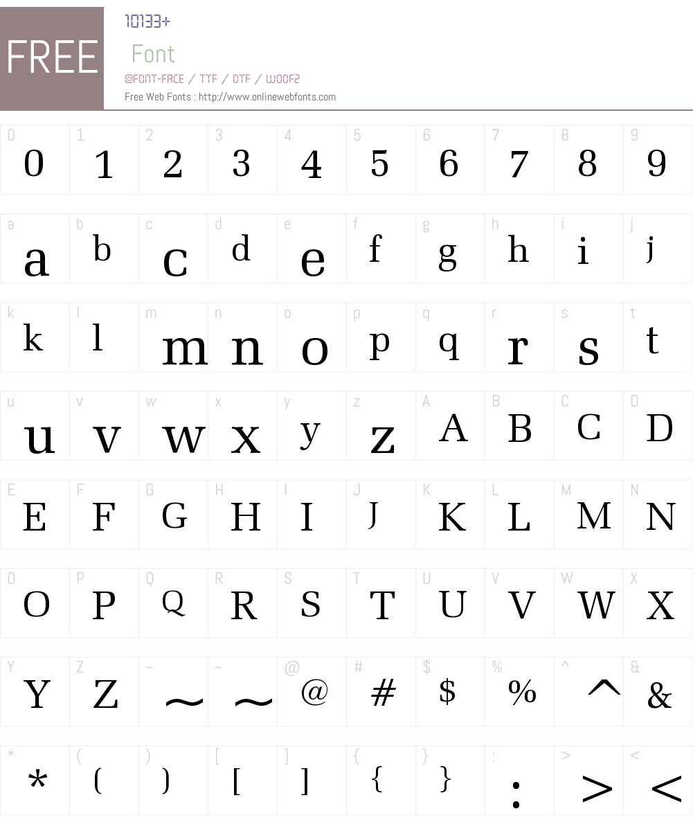 Zapf Elliptical 711 BT Font Screenshots