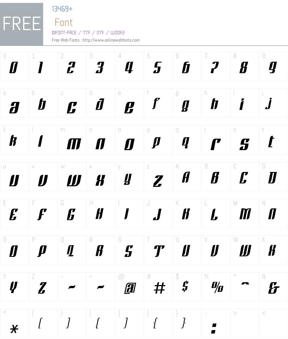 Linotype Rezident Four Font Screenshots