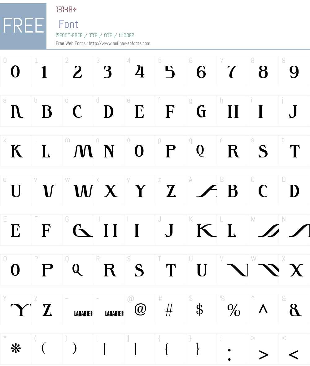 InstantTunes Font Screenshots