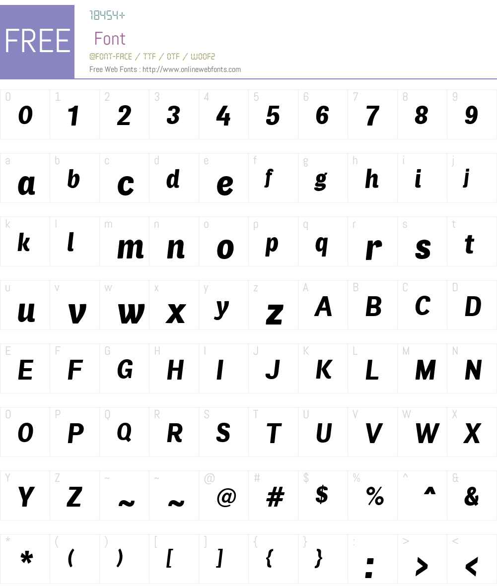 AirSoftW00-BlackItalic Font Screenshots
