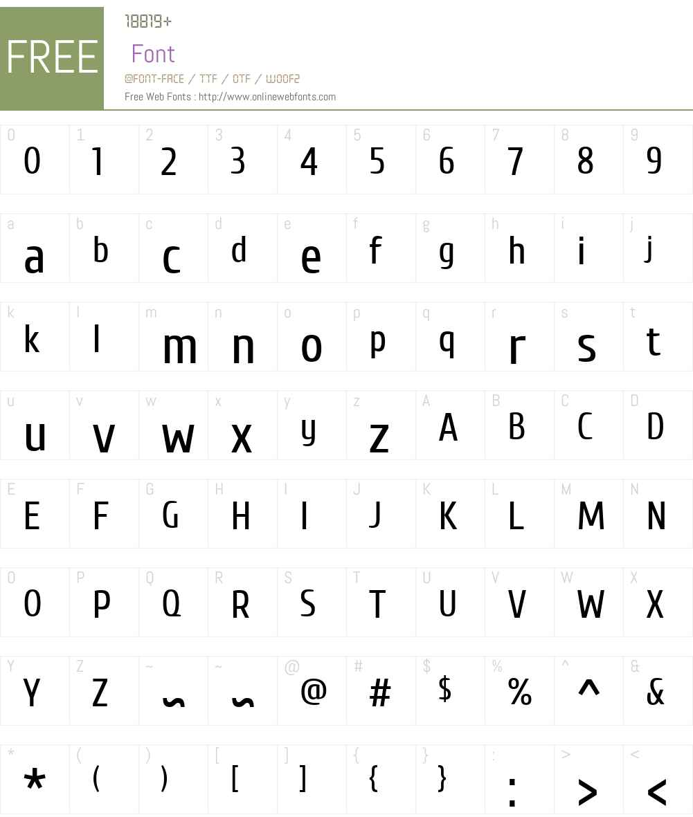 Cuprum Font Screenshots