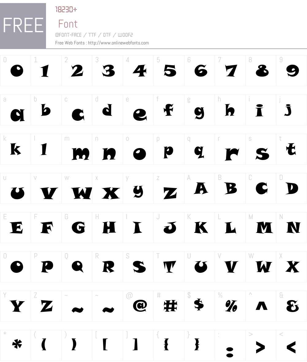 Snap ITC Font Screenshots
