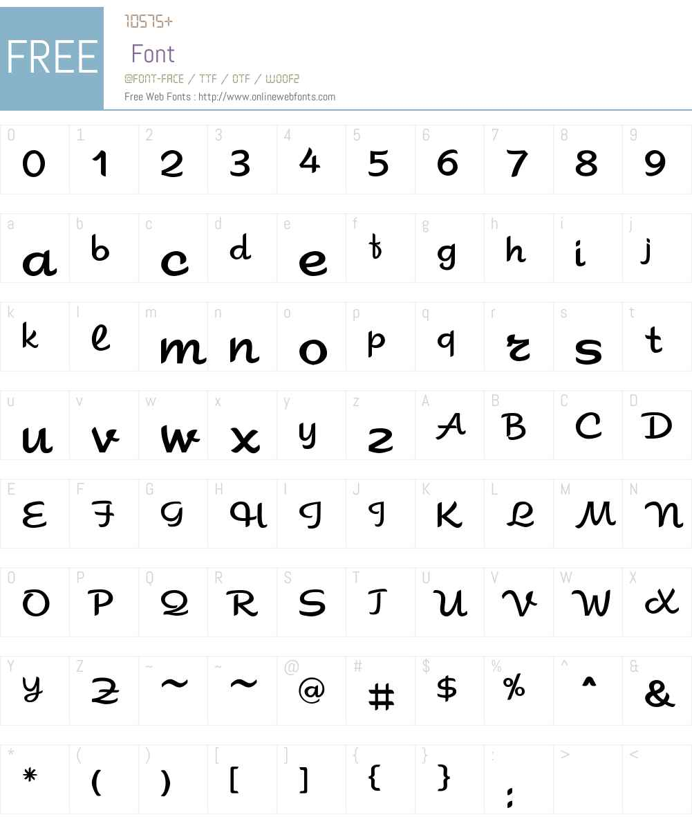 Sahara Font Screenshots