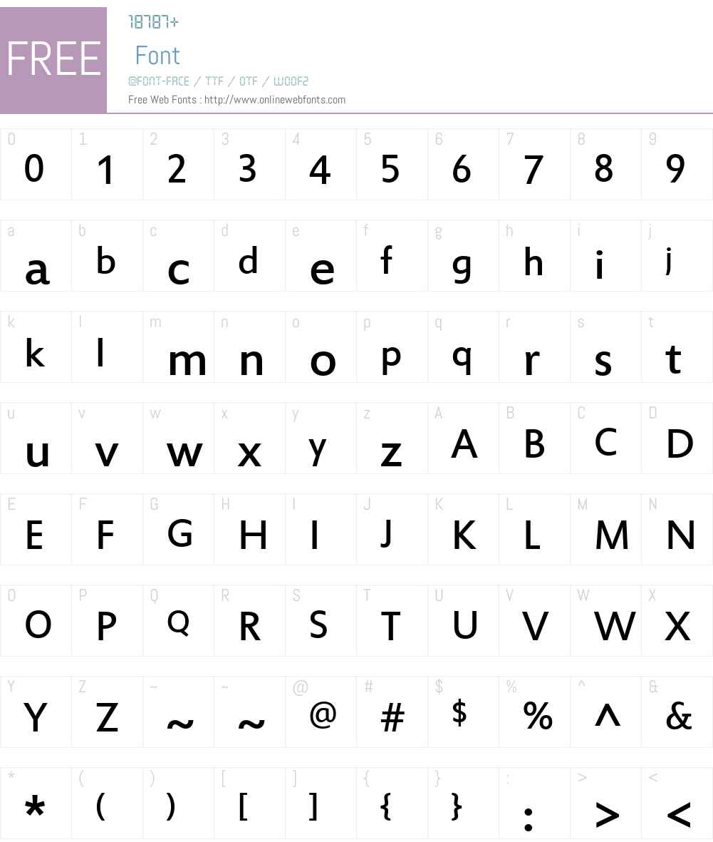 Estrangelo Edessa Font Screenshots