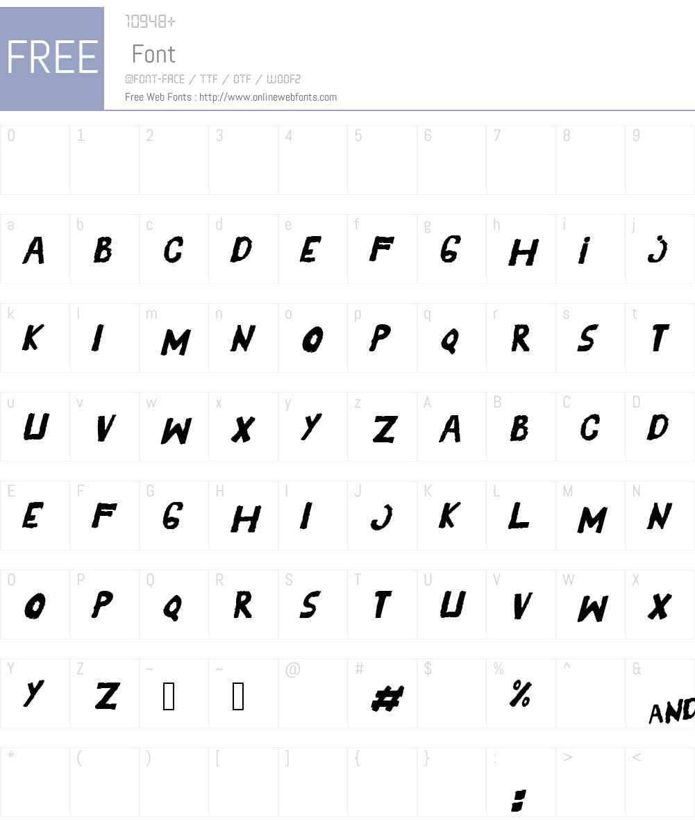 YES_italic Font Screenshots