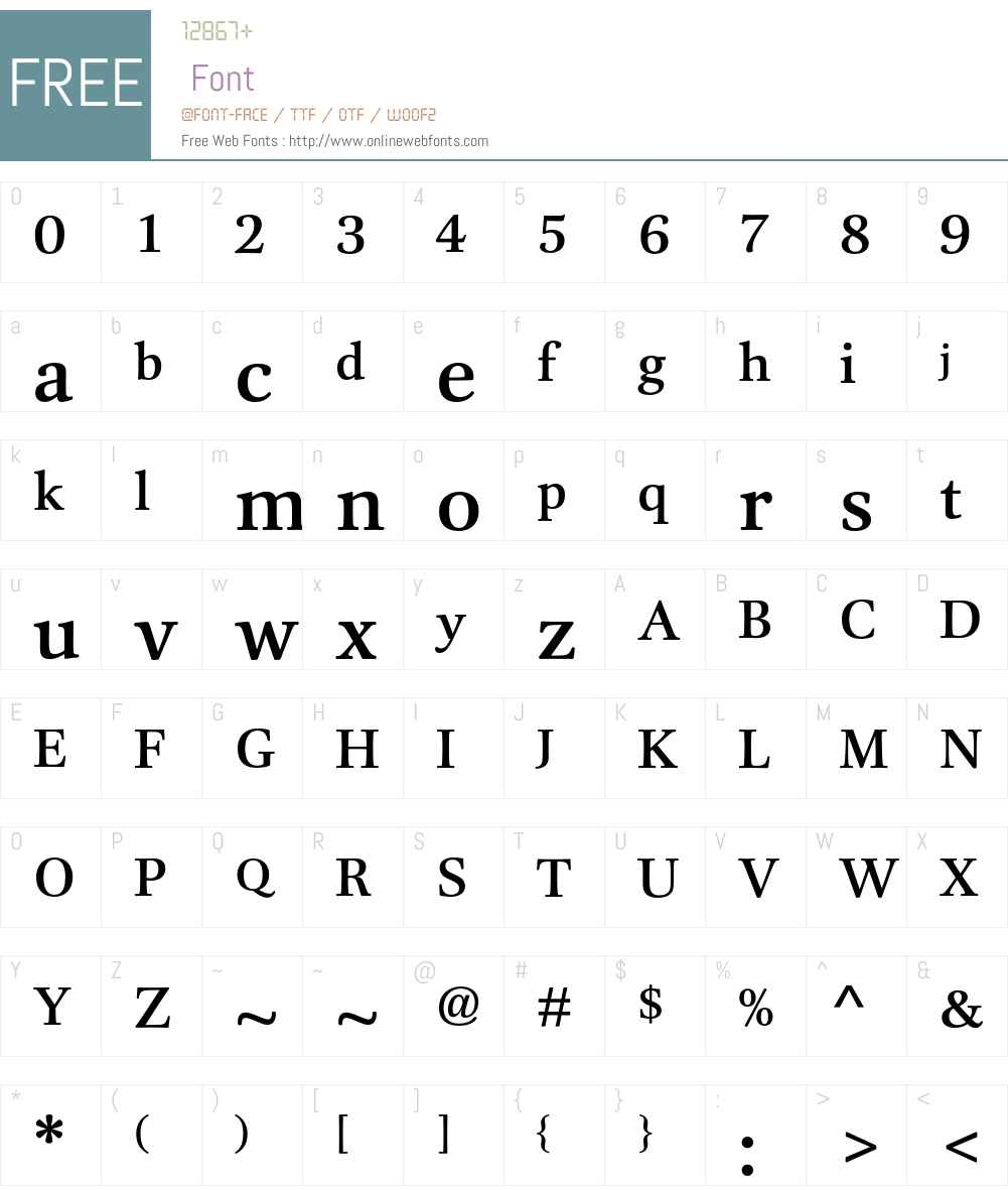 DTLUnicoT Font Screenshots