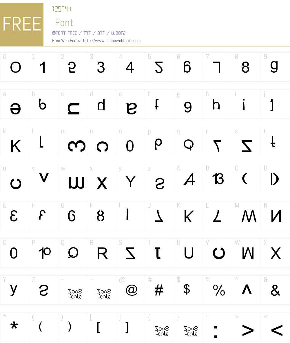New Alay Generation Font Screenshots