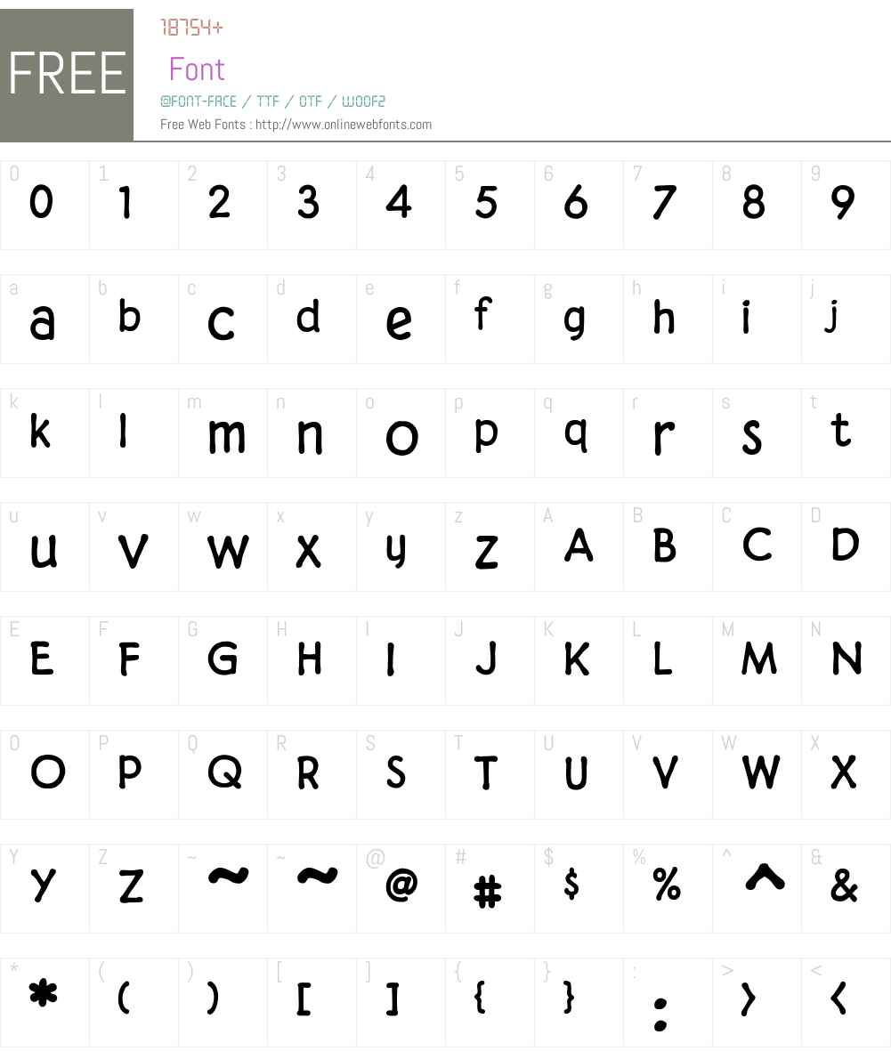 CCDigitalDeliveryW00-Bold Font Screenshots