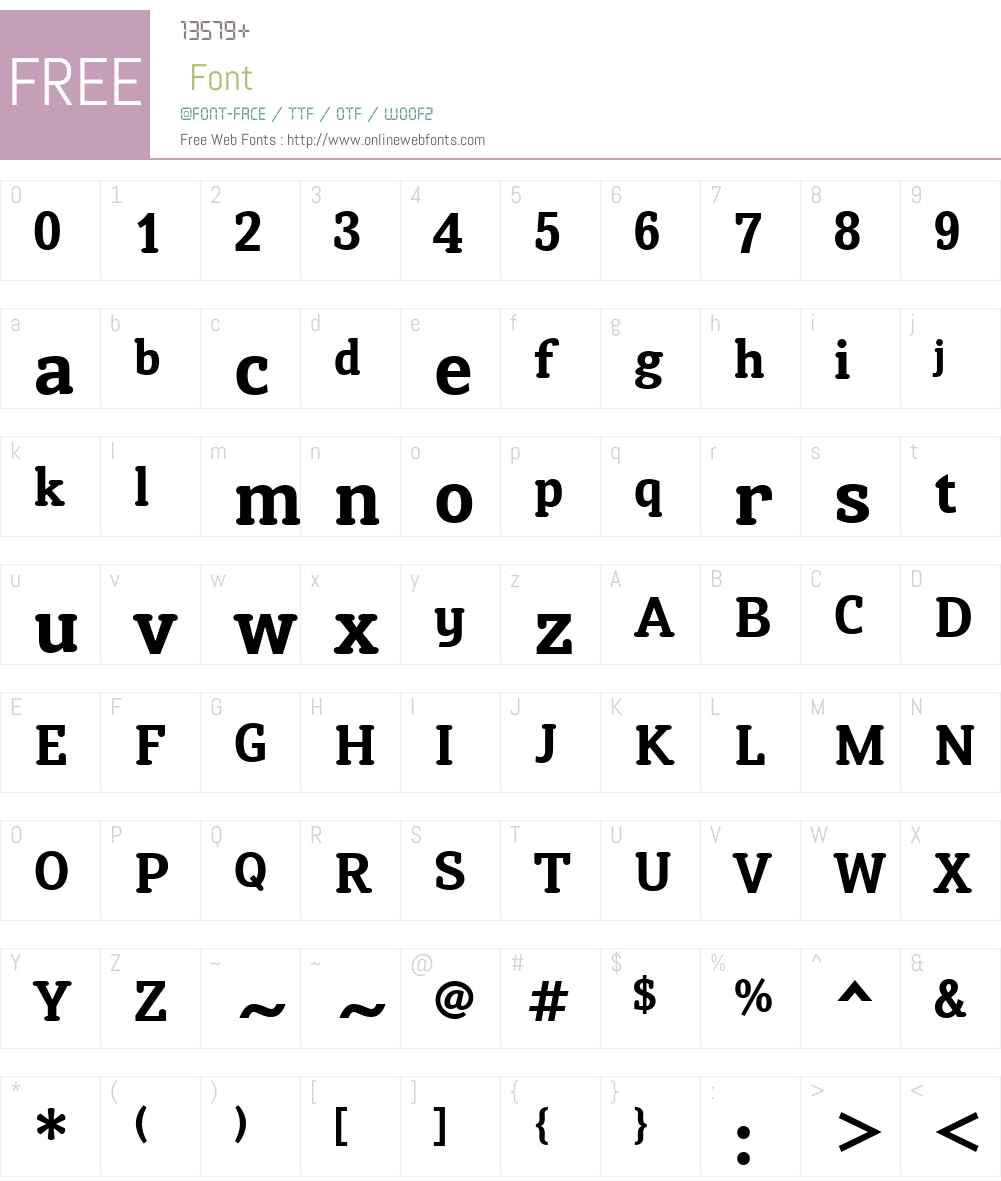 SusanClassicW01-Bold Font Screenshots