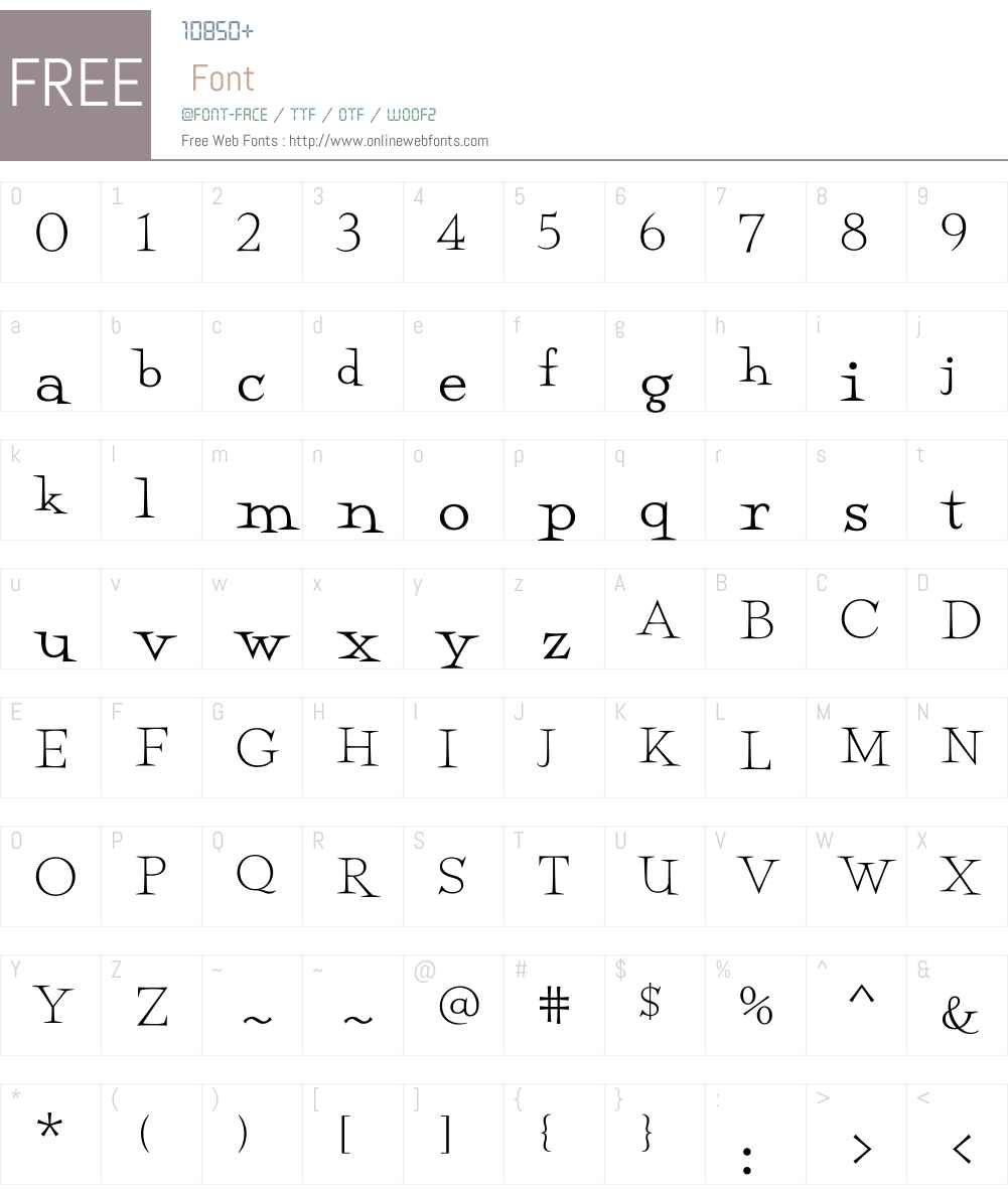 Perfect Magic Font Screenshots