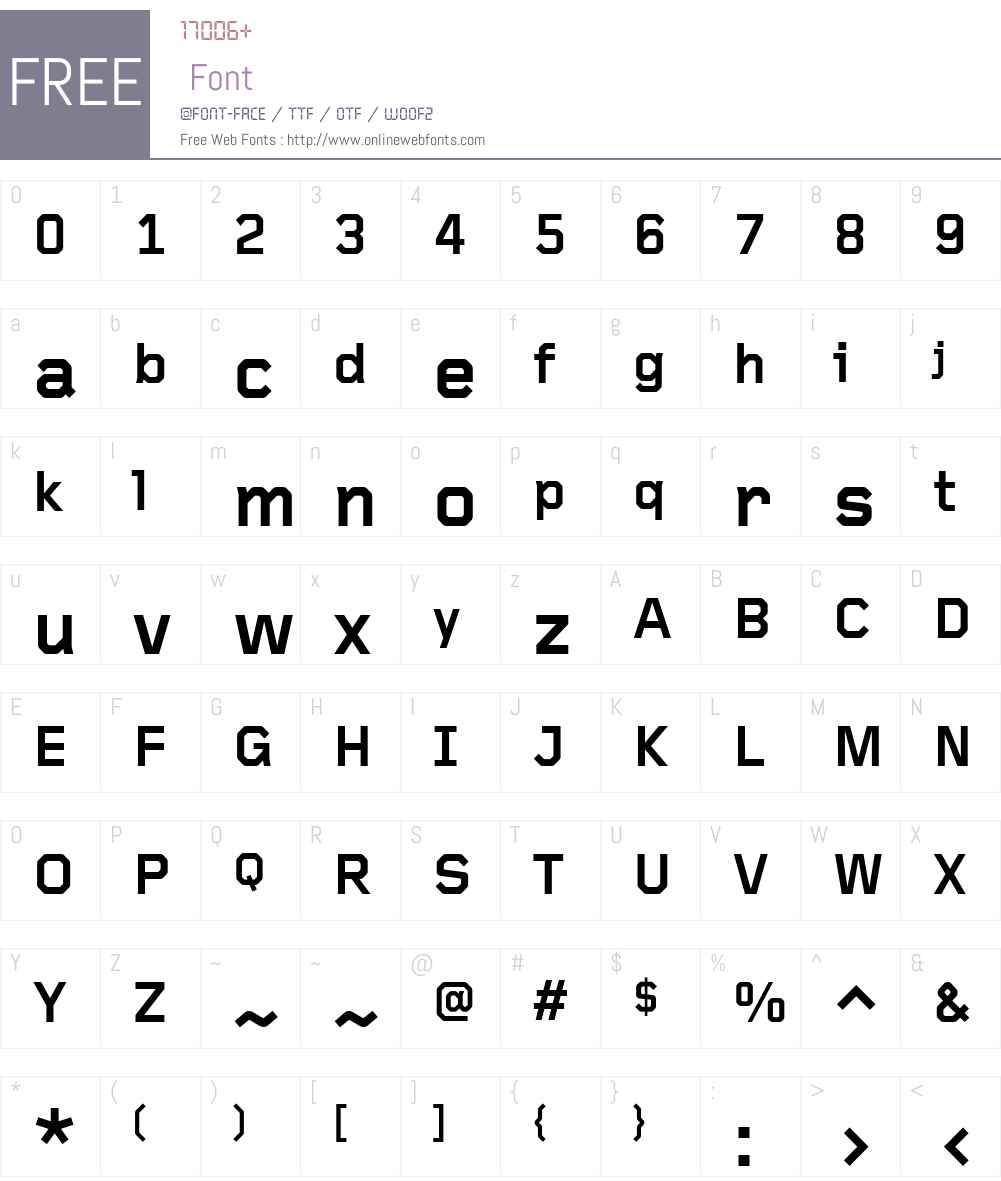 Foundry Gridnik Font Screenshots