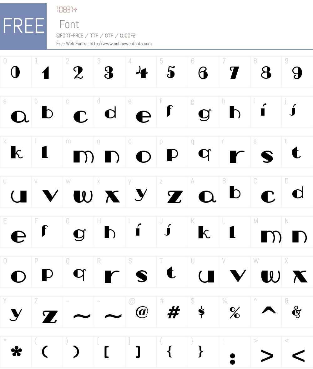 Nip And Tuck NF Font Screenshots