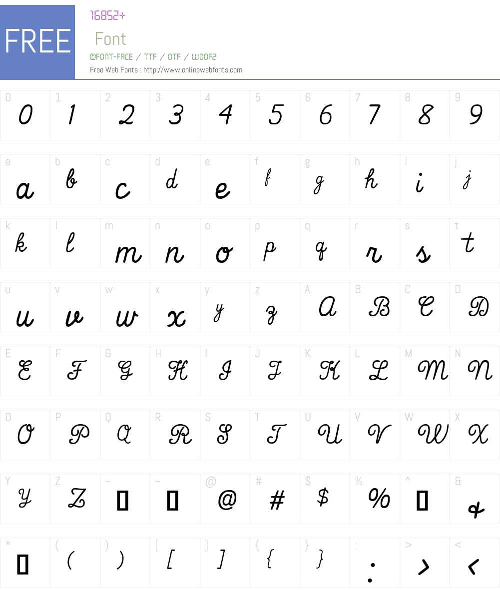 That's Font Folks! Font Screenshots