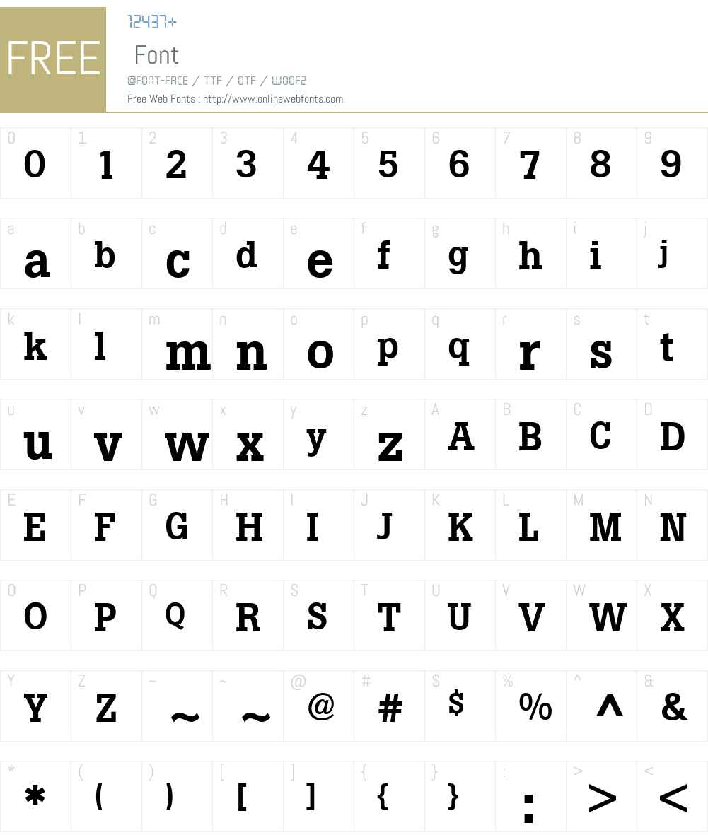 Boton Font Screenshots