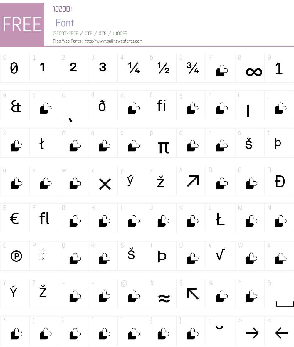 Akkurat-Extra Font Screenshots