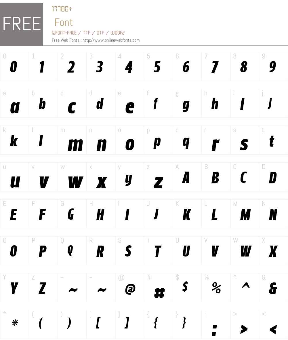 LeituraHeadlW01-SansItalic Font Screenshots