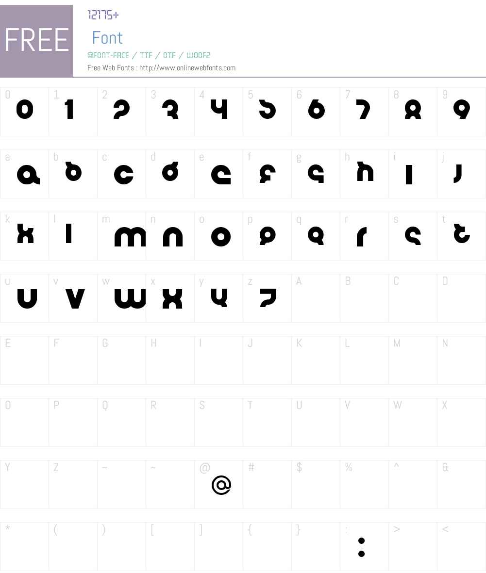 Flirt Bobo Font Screenshots