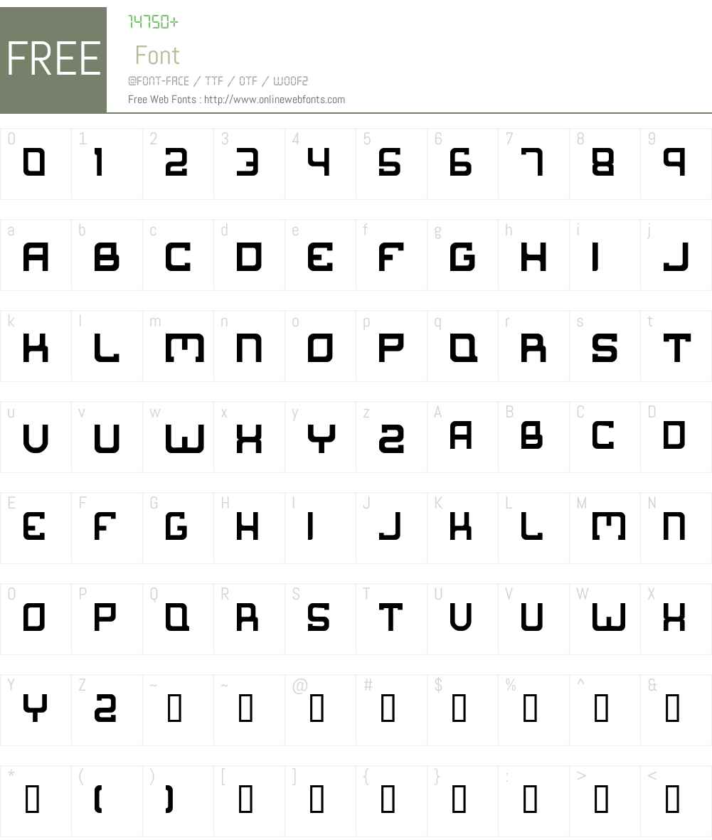 Suborban Font Screenshots