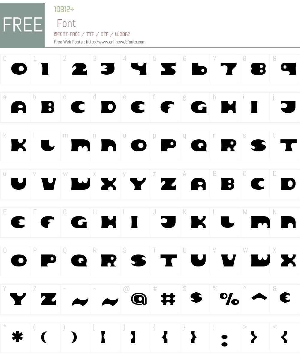 Massi Font Screenshots