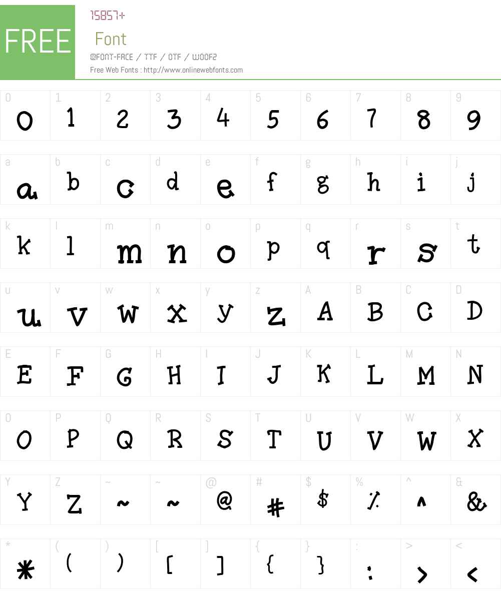Amutham Font Screenshots